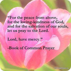 A prayer for peace - Book of Common Prayer - The Episcopal Church