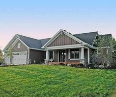 Plan 14315RK: Ranch Home Plan with Optional Lower Level