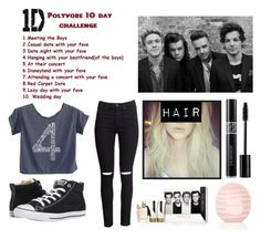 """""""10 Day 1D Challenge: Day 1"""" by fangurl-of-bands ❤ liked on Polyvore featuring H&M, Converse, Topshop, Christian Dior, OneDirection, harrystyles, LiamPayne, NiallHoran and louistomlinson"""
