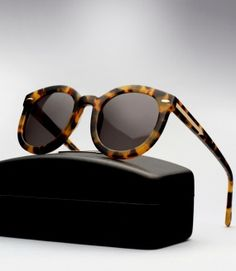 c14cf4caf1c4 Karen Walker Super Duper Strength - Tortoise New Ray Ban Sunglasses