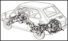 fiat 126 prima serie motore - Cerca con Google
