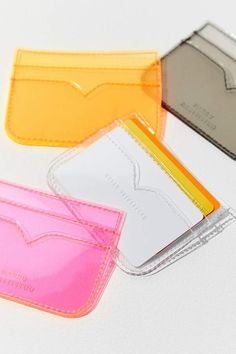 Shop Urban Outfitters for the latest styles in women's bags, wallets & backpacks. Whether you need a going out clutch, or an everyday tote we've got it all. Lady Like, Leather Accessories, Tech Accessories, Card Wallet, Card Case, Clear Card, Craft Bags, Small Leather Goods, Reusable Bags