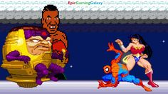 Spider-Man And Wonder Woman VS Mike Tyson The Boxer And MODOK In A MUGEN Match / Battle / Fight This video showcases Gameplay of Spider-Man The Superhero And Wonder Woman The Superheroine VS Mike Tyson The Boxer And MODOK The Supervillain In A MUGEN Match / Battle / Fight