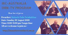 IRC-Australia DBN-TV Sunday 19 August 2018 – Mataele Pulu Tu'ulakitau – FB Ad