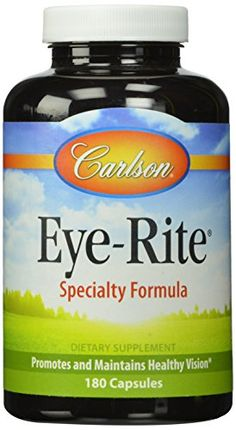 Carlson Labs Eye-Rite Eye Formula, 180 Capsules ** undefined