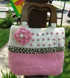 Looks like knitting to me, but I will use it as an idea for crochet...