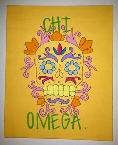 Check out what I have been working on this summer!  Chi Omega Paintings! GinniJones  - It's All Greek To Me - on Etsy