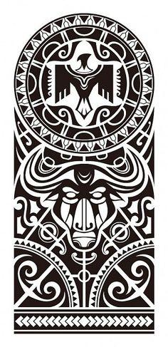полинезия тату эскизы
