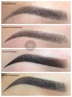 Eyebrows Sketch, Mircoblading Eyebrows, Types Of Eyebrows, Eyebrow Makeup Tips, Permanent Makeup Eyebrows, Eye Makeup, Eyebrow Styles, Eyebrow Design, Eyebrow Tattoo