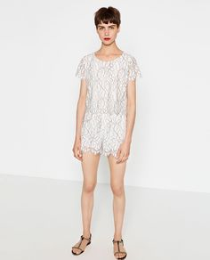 LACE TOP-View all-WOMAN-NEW IN | ZARA United States