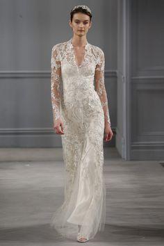 2014 Monique Lhuillier Wedding Dresses Collection – New York Bridal Fashion Week   onefabday.com