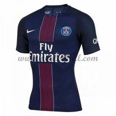 Billige Fotballdrakter Paris Saint Germain Psg 2016-17 Hjemme Draktsett Kortermet