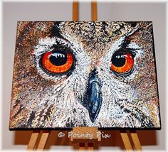 A new canvas in the Windows to the Soul series #animal #art