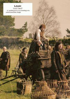 Outlander definitions.- Load. (x)