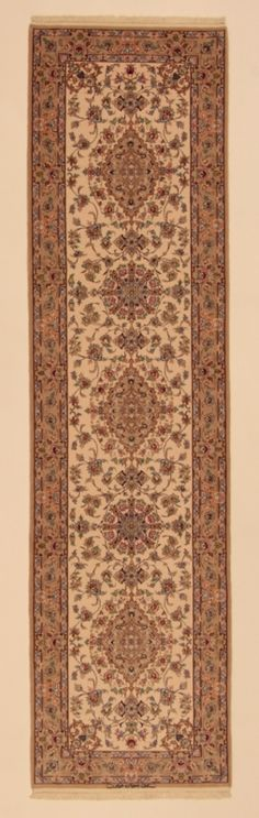 Perserteppich Isfahan a.Seide hell (83x315cm)