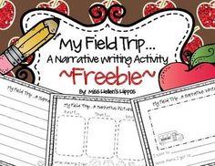 """My Field Trip"" A Narrative Writing Activity {FREEBIE} Narrative Writing Kindergarten, Teaching Writing, Teaching Ideas, 2nd Grade Classroom, Primary Classroom, Classroom Resources, Classroom Ideas, Writing Worksheets, Writing Activities"