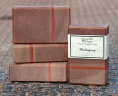 Mahogany Handmade Cold Process Soap by sagegold on Etsy