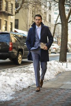 Meet New York blogger Adam Gallagher, the tall, dark and handsome mastermind behind I Am Galla, a sharp style diary for the all-American male.
