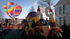 #Bloemencorso #Bollenstreek - (OFFICIAL Dutch Flower Parade) Jur Media Productions #Nederland #Flowers #Holland