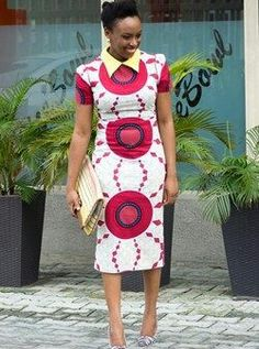 Check Out This Ankara Gown Style ~African fashion, Ankara, kitenge, African women dresses, African prints, Braids, Nigerian wedding, Ghanaian fashion, African wedding ~DKK