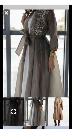 RASHAD's media statistics and analytics Modest Fashion Hijab, Abaya Fashion, Muslim Fashion, Fashion Dresses, Mode Abaya, Mode Hijab, Kebaya Dress, Batik Fashion, Mode Jeans