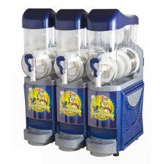3-groeps slush machine, 3x 10 liter Afm. (bxdxh): 600x480x840mm  2.250,00 excl. btw