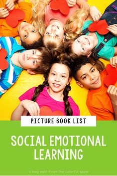 Social Emotional Learning is more important than ever. This list includes picture books for every SEL skill. Teaching social skills is so much easier with read aloud books. Also includes ideas for interactive read-alouds for each competency. Perfect for use in the elementary school classroom. (first grade, second grade, social emotional lessons, teacher, planning) Teaching Social Skills, Social Emotional Learning, Teaching Strategies, Curriculum Planning, Lesson Planning, Read Aloud Books, Children's Books, Teacher Lesson Plans, Teacher Resources