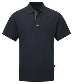 Tuff Stuff TuffStuff 134/NV-M Medium TS Short Sleeve Polo Shirt - Blue TUFFSTUFF POLO SHIRT. TS134. CASTLE CLOTHING TUFFSTUFF Brand. 50% Polyester, 50% Cotton. Easy care fabric. Contrasting placket andamp