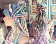**Please note that my current turnaround time is 4-6 weeks**  I will work with you to create a quality set of hand crafted dreads made with love,