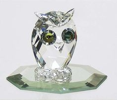 Swarovski Crystal Figurines | SWAROVSKI SWAROVSKI CRYSTAL FIGURINE at Replacements, Ltd