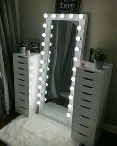 Room Design Bedroom, Room Ideas Bedroom, Home Room Design, Diy Bedroom Decor, Teen Bedroom, Bedroom Bed, Bedroom Colors, Bedroom Furniture, Beauty Room Decor