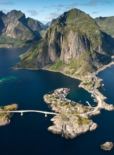 Aerial Photography NorWay. Photograph Reine by Andre Ermolaev on 500px