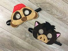 Lion King Inspired Masks Kids Masks Kids Costumes Lion