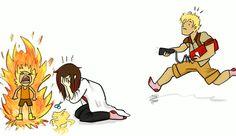 Imagina o desespero deles vendo a Yang pegando fogo pela primeira vez...xp