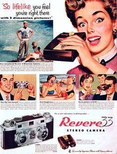 I ownder how many of these were purchased 50 Vintage Camera Ads - Part 1 | Abduzeedo Design Inspiration
