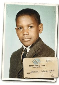 Denzel Washington (too cute)