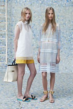 Chloé Resort 2014 Fashion Show - Marique Schimmel and Elisabeth Erm