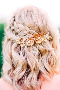 Gorgeous Braided Prom Hairstyles for Short Hair picture 6…