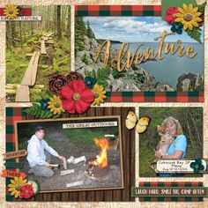 GingerScraps :: *Shop by: BUFFET :: October 2016 Buffet :: Photo Frenzy Harvest Templates by Miss Fish Templates