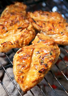 Grilled Chicken - so simple! Only 6 ingredients - chicken, maple ...