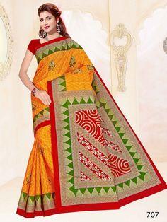 Designer Sarees Collection, Saree Collection, Formal Wear, Kurti, Magenta, Apps, Textiles, Play, Orange