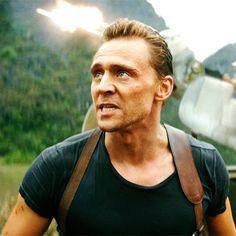 #TomHiddleston as #CaptainJamesConrad in #KongSkullIsland