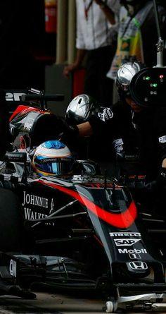 #14 Fernando Alonso...McLaren Honda...McLaren MP4-30...Motor Honda RA615H V6 t h 1.6...GP Brasil 2015