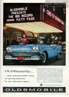 Oldsmobility: Going places in the Rocket Age! (1958)
