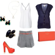 cute summer work outfit