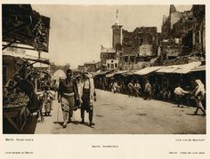 A street in Beirut [1890s]