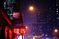 Новый Арбат. Снегопад