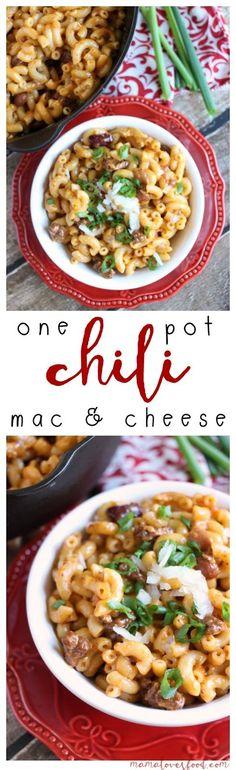 Easy Chili Mac and Cheese