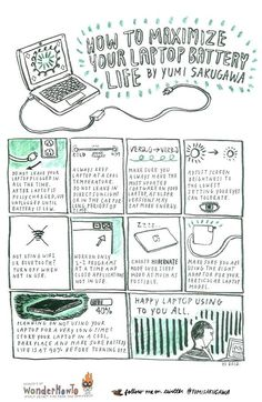 How to maximize your laptop's battery life. Simple things to do every time you use your laptop.