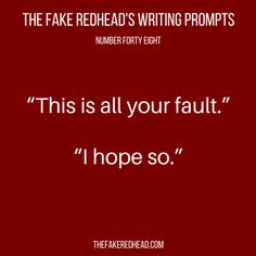 TFR's Writing Prompt 48